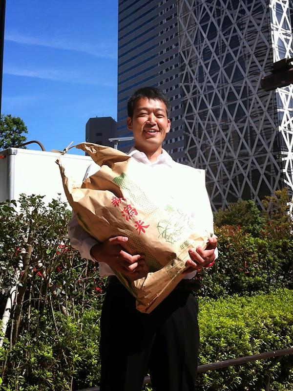 米袋バッグ,コシヒカリ 新潟県小千谷市真人町のしゃっきらもねぇ一日: 米袋バッグ