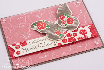 Birthday Butterfly with the Floral Wings Stamp Set from Stampin' Up!