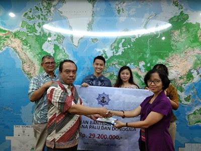 Penyerahan Bantuan Kemanusiaan Bencana Palu dan Donggala Sulteng