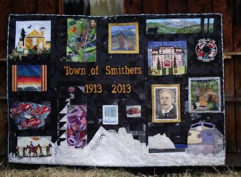 Smithers 2013 Centennial Quilt