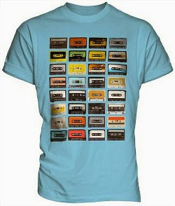 Retro Cassette Tapes T-shirt for Men - choice of colours