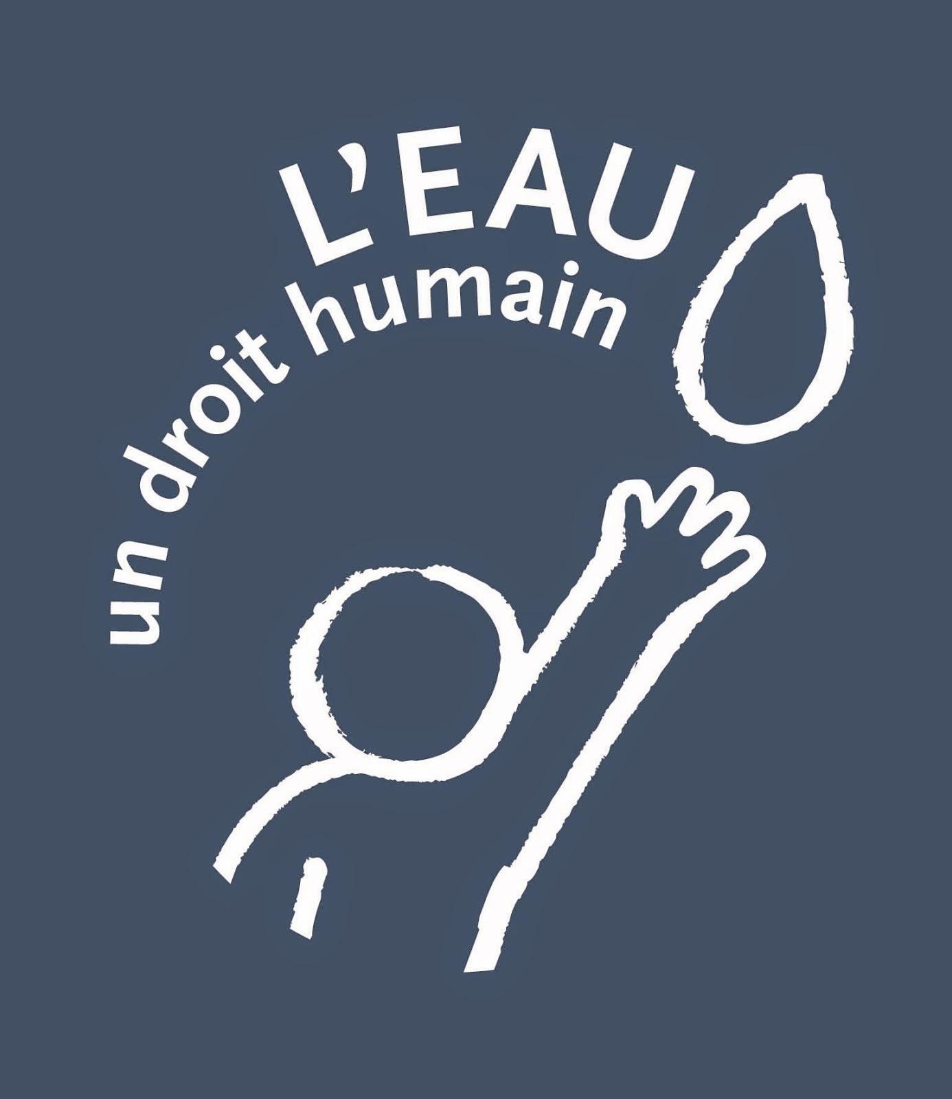 L`eau: un droit humain!