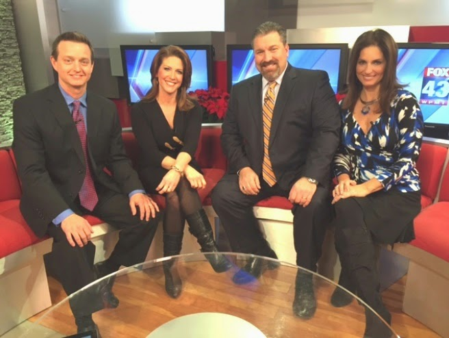 They also wear boots at night on fox 43 s big red couch