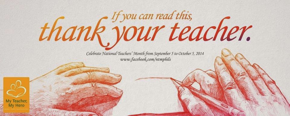 DepEd honors Filipino teachers, celebrates World Teachers' Day 2014