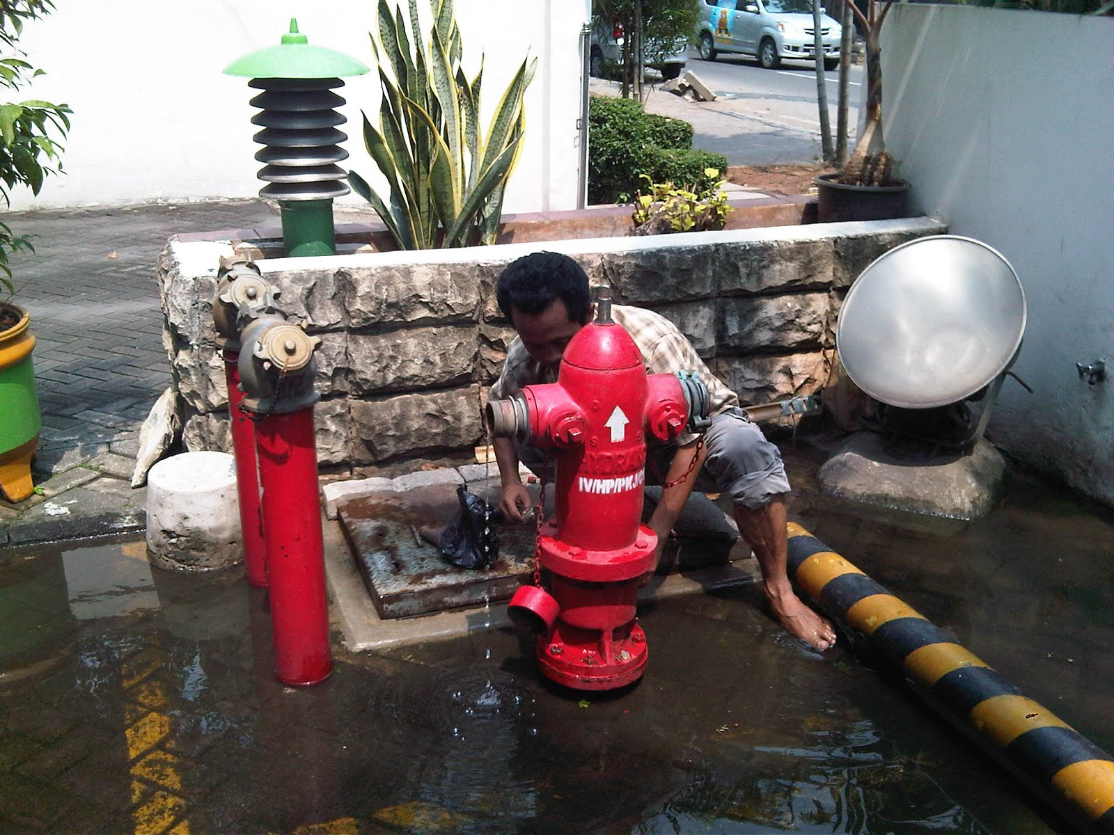 Jasa Maintenance Hydrant System