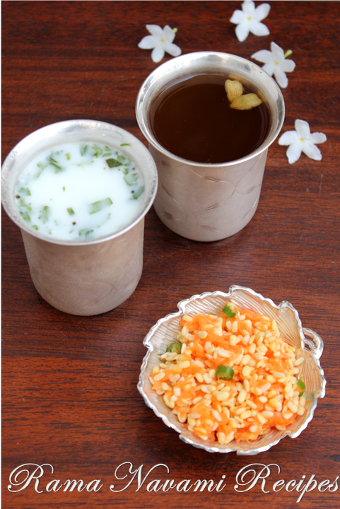 Jayas recipes sri rama navami recipes these are the three things made for rama navami as neivedhyam forumfinder Image collections