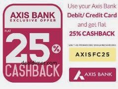 Recharge & Bill Payments 25% Cashback