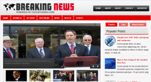 Breaking news blogger template 300x164 25+ Best Free Magazine Blogger Templates for 2013 Download