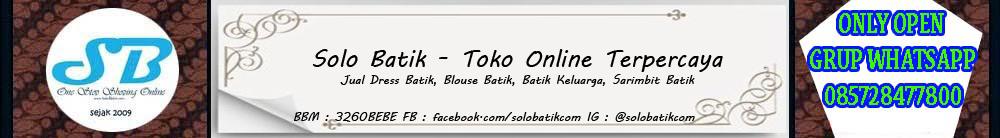 Model Baju Batik Online