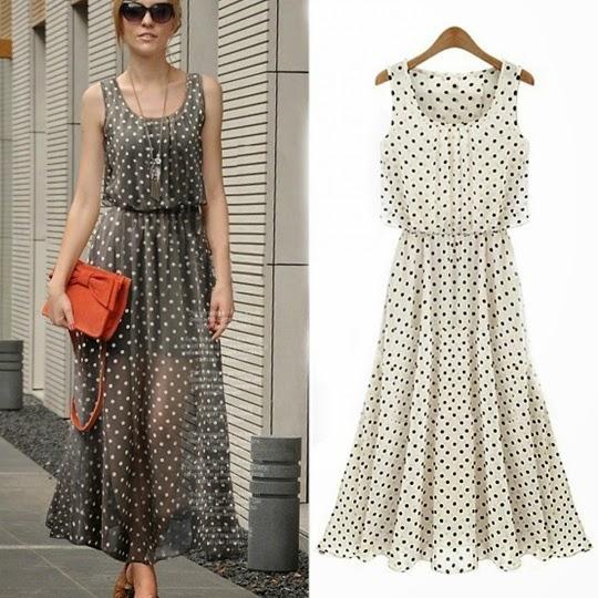 Spring Polka Dot Dress