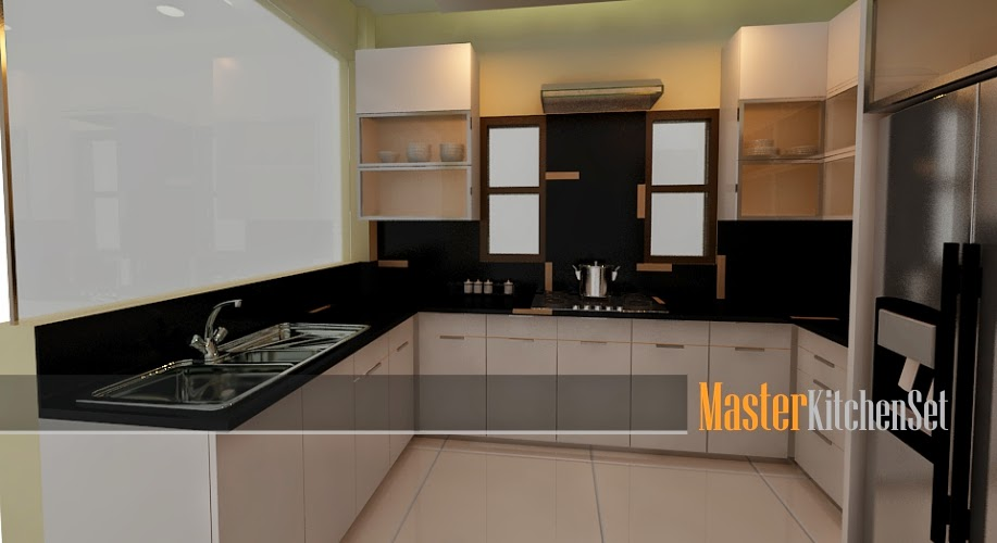 Kitchen set solo blog master putih