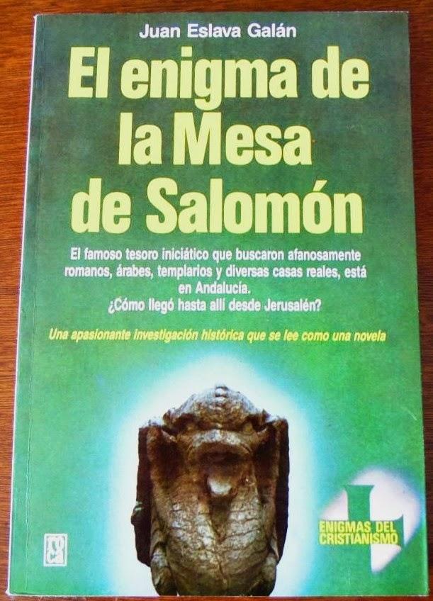 El Enigma de la Mesa de Salomón de Juan Eslava Galán
