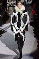 кожено палто с косъм 2014 Tom Ford