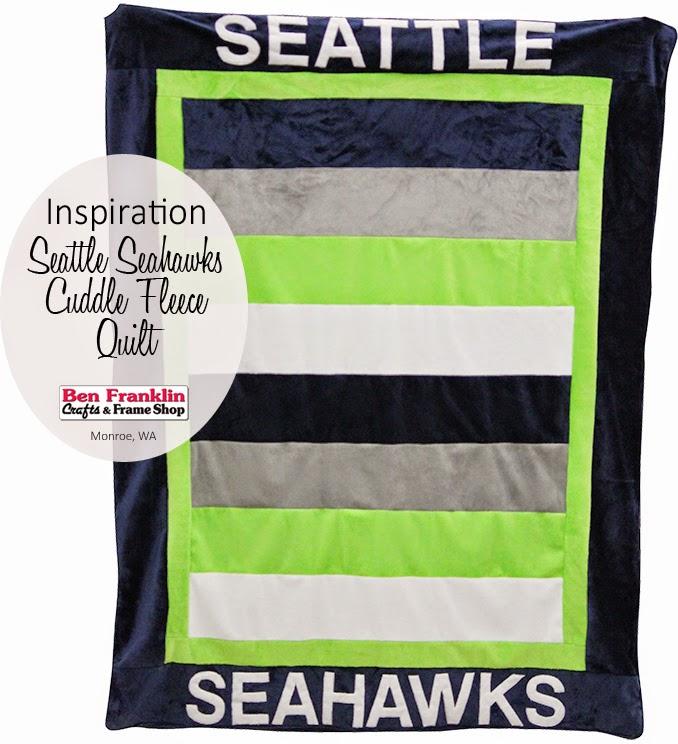 Seattle Seahawks Cuddle Fleece Quilt