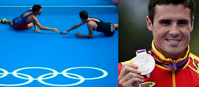 Medallista olímpico en triatlón en Londres 2012