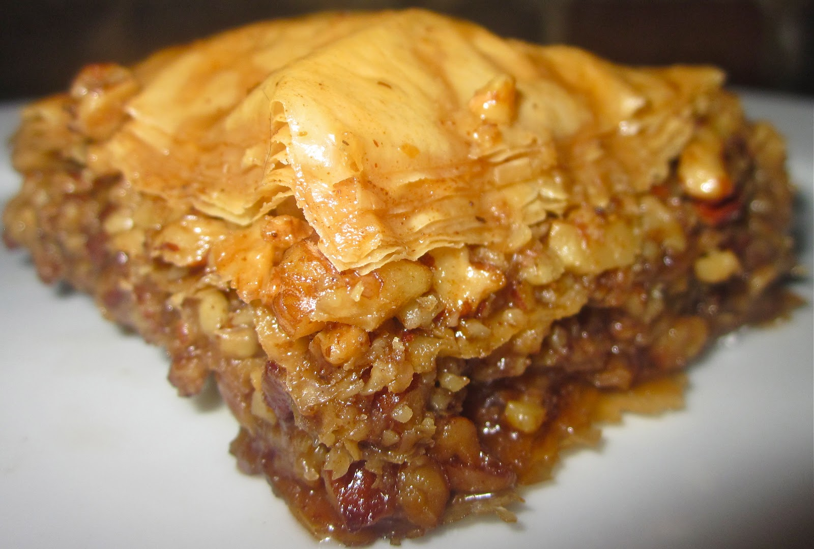 Brown Butter Baklava with a Spiced Honey Soaking Syrup