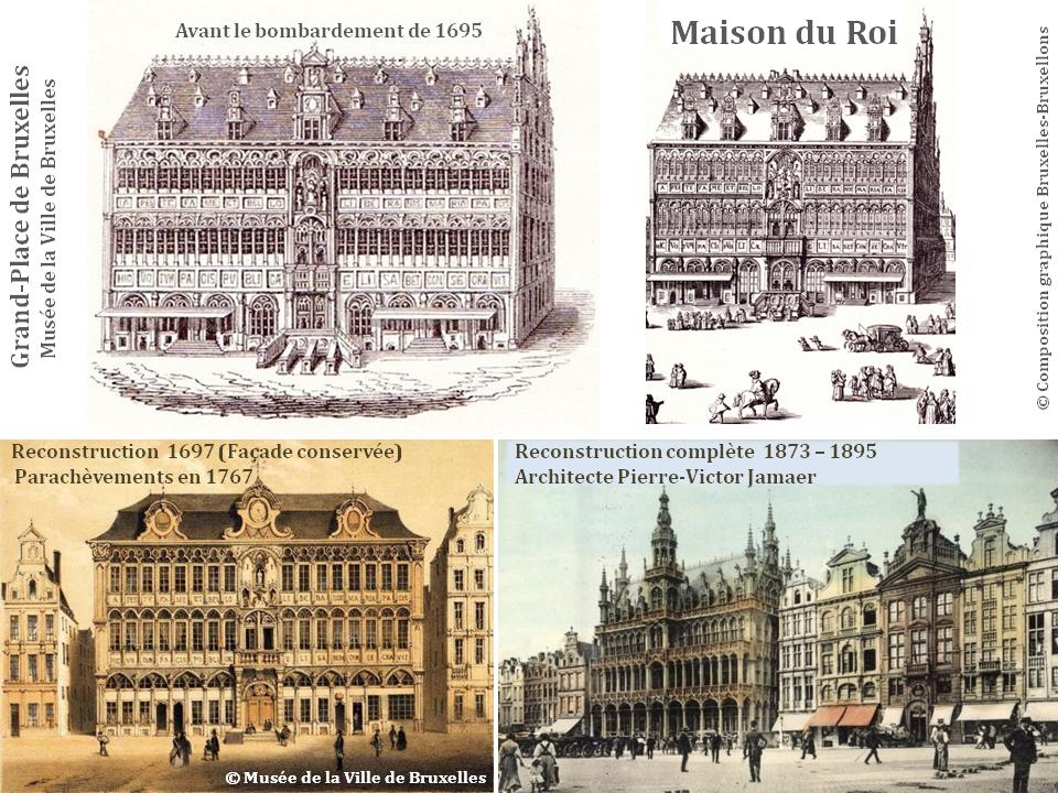Les Maisons de la Grand-Place de Bruxelles - La Maison du Roi - Bruxelles-Bruxellons