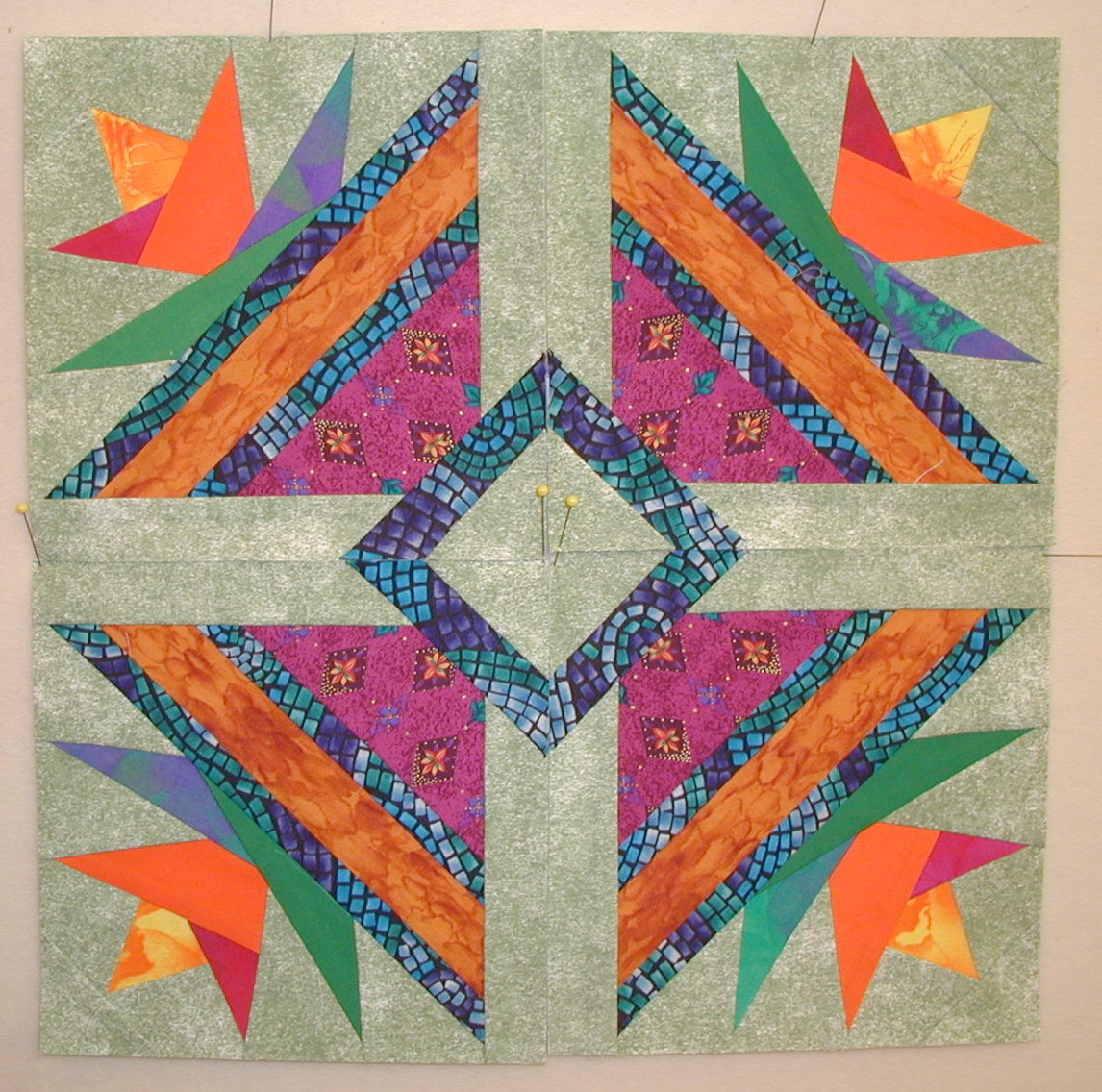 Quilting Designs On Paper : Moonbear Longarm Quilting: Design Wall Monday 04.30.12