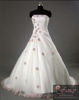 A Wedding Addict Purple And White Wedding Dresses