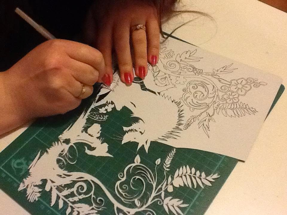 Wycinanki z papieru czyli Paper Panda Środowe Inspiracje by Eco Manufaktura