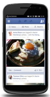 Facebook ubuntu phone, Facebook ubuntu para móviles