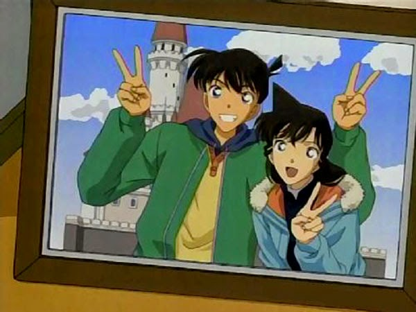 Shinichi Kudo and Ran Mouri (Detective Conan)