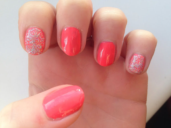 NOTD Models Own Coral Glaze & Juicy Jules