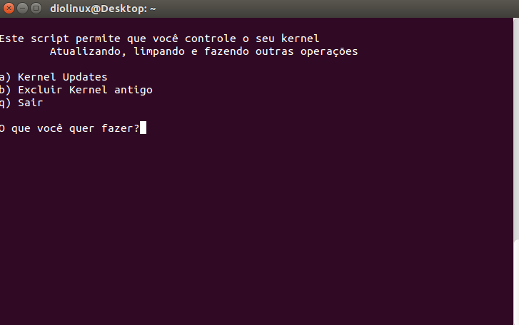 Kernel Update Ubuntu