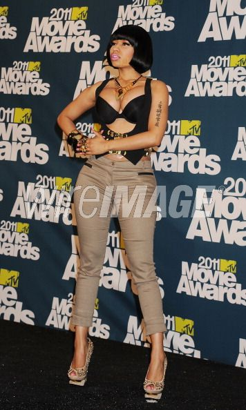 nicki minaj 2011 mtv movie awards. Nicki Minaj at last weeks 2011