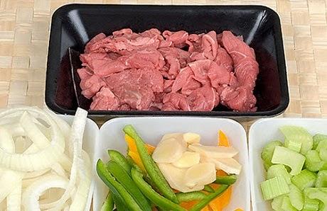 Stir-fried Beef with Ginger and Onions (Bò Xào Gừng và Hành Tây)1