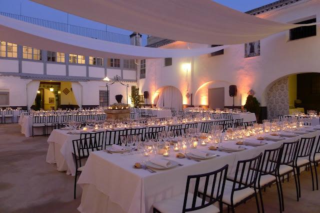 Decoración bodas Valencia mil velas