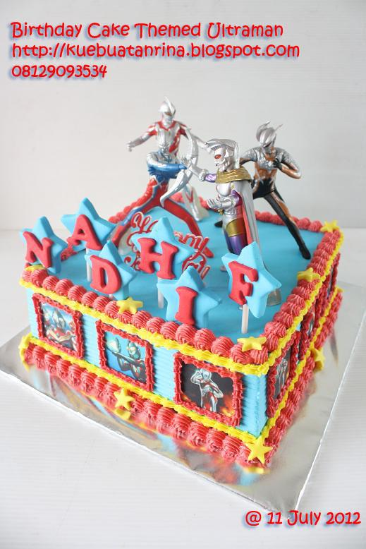 Masama Cakes Ultraman Themed Birthday Cake untuk Nadhif