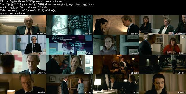 La Pagina Ocho DVDRip Español Latino Película 2011
