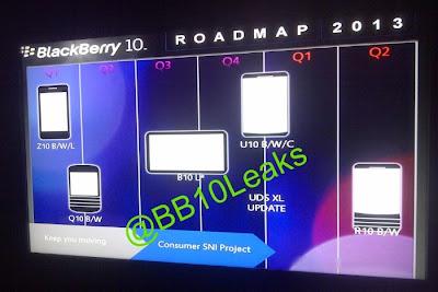 """Nosotros recientemente revelamos un montón de nombres claves para los próximos dispositivos BlackBerry 10. Muchos de ellos asociados a los dispositivos que están programados para llegar este año y el próximo. Hasta ahora, BlackBerry ha sido transparente sobre la aparición del próximo dispositivo Q10 y luego otro que será un """"emocionante"""" dispositivo insignia , según el CEO de BlackBerry Thorsten Heins. Un nuevo plan de trabajo de BlackBerry 10 para esté 2013 apareció en una hoja, a través de foros de miembros @BB10Leaks te darás cuenta de que hay algunos dispositivos interesantes: B10 L, U10 y R10. ¿Cuales podrían llegar"""