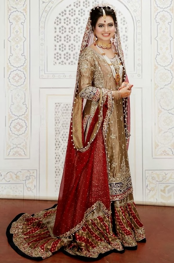 Pakistani Bridal Fashion 2014 2015 Pakistan Weddings Fashion Trends For Brides
