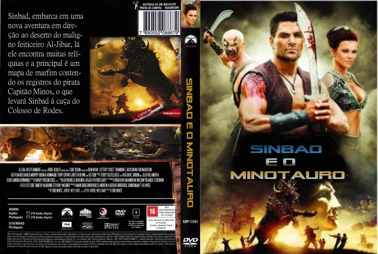 Sinbad e o Minotauro DVDRip XviD Dual Áudio Sinbad 2Be 2Bo 2BMinotauro 2B  2BXANDAODOWNLOAD
