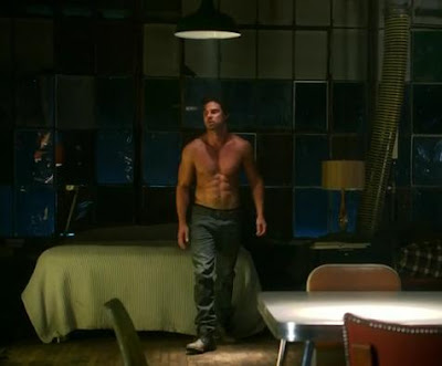 vincent keller shirtless