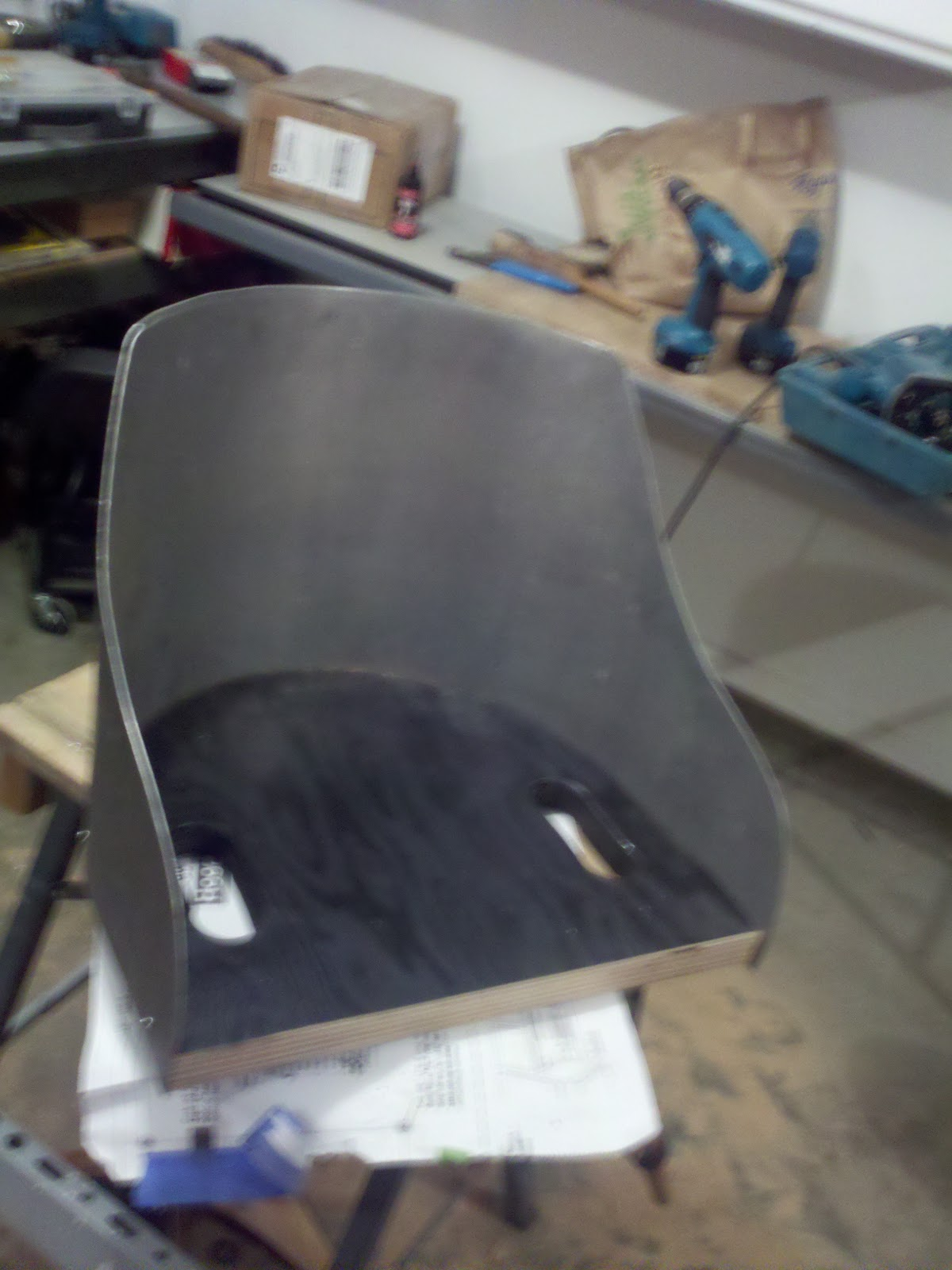 1922 Ford Model T Speedster Project Seats Since The Is So Similar To Next I Had Do Something About Sharp Edge Of Shells My Local Oreilly Auto Parts Guy Came Teh Rescue With A Flexible Plastic Door