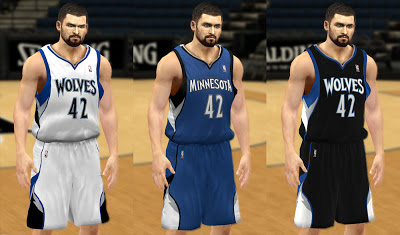 NBA 2K13 Minnesota Timberwolves 2013 Jersey Patch