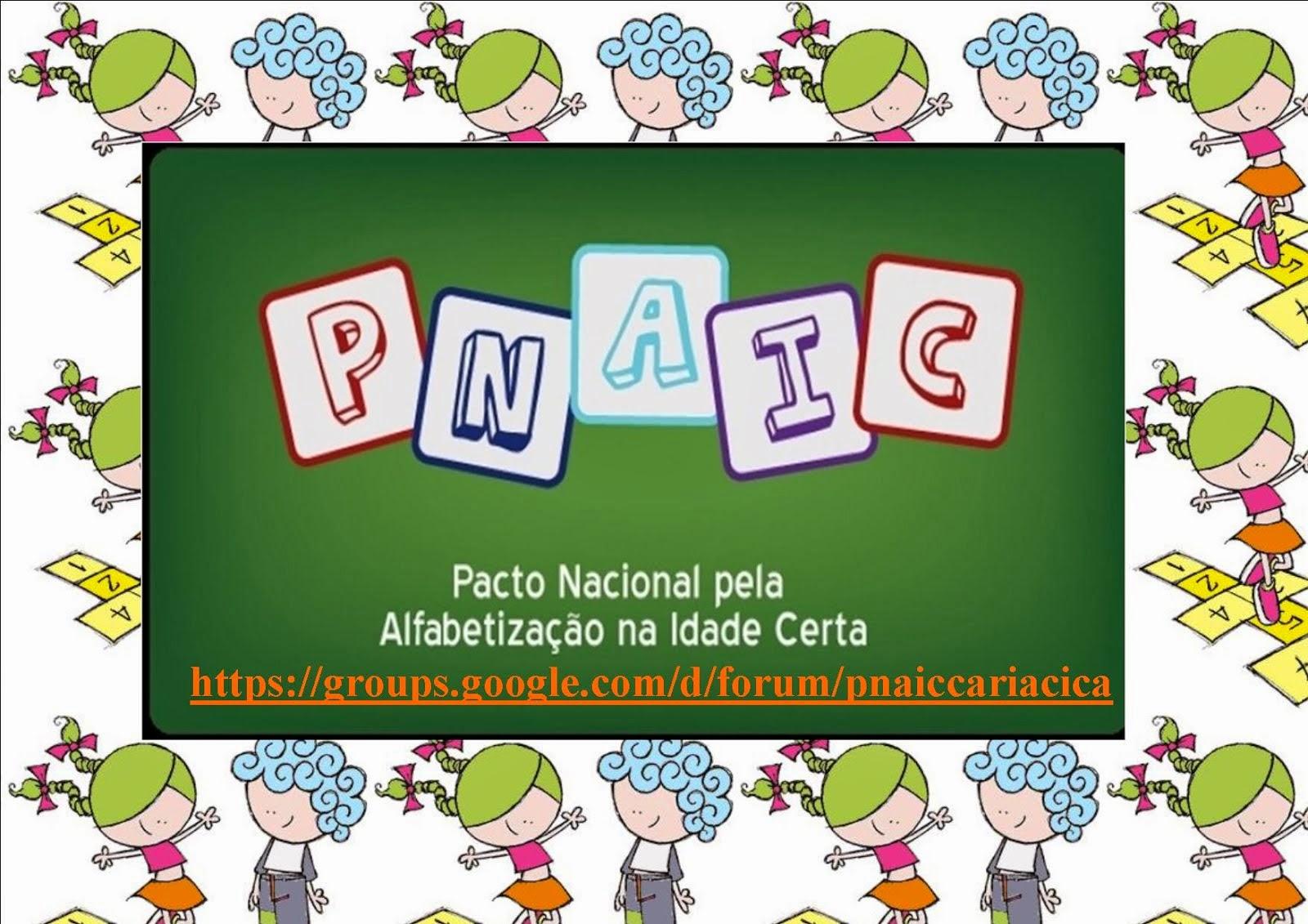 Pnaic - Cariacica - ES