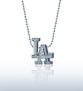 Little MLB Los Angeles Dodgers Necklace by Alex Woo
