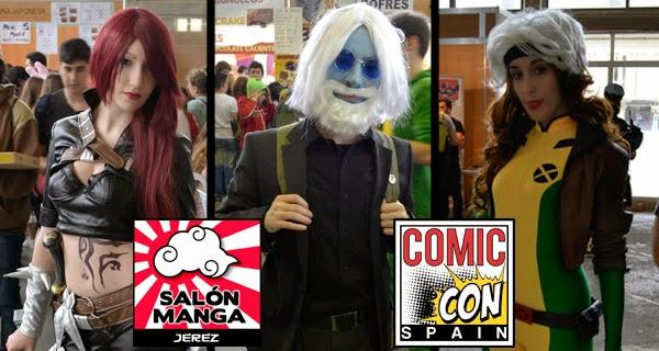 Mejores cosplays Comic Con Spain 2015