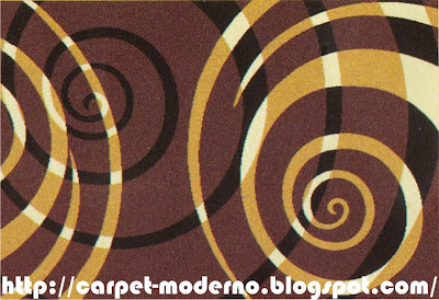 karpet Moderno 16-277 D.Brown