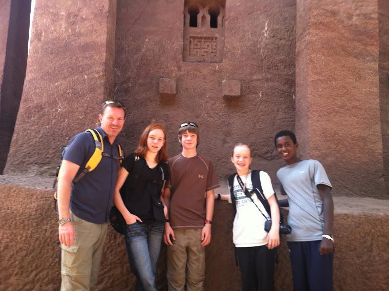 Visiting Lalibela