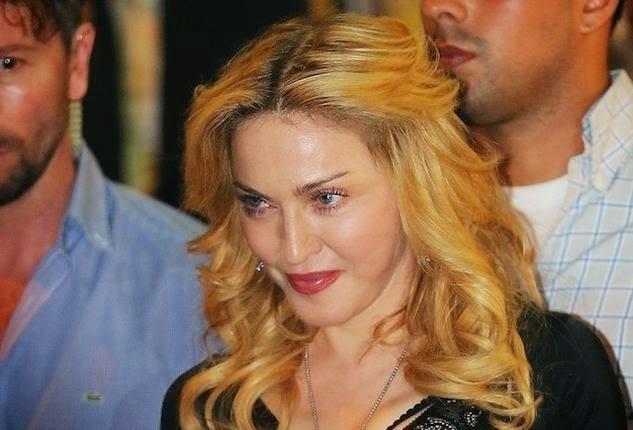 Шокирующая Instagram Скандал Мадонны