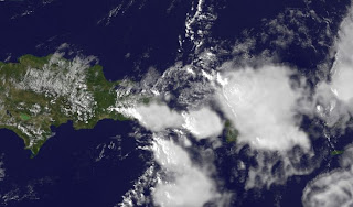 Satellitenbild Dominikanische Republik und Puerto Rico, Dominikanische Republik aktuell: Erneute Unwetter ab sofort in Punta Cana und Cabarete zu erwarten