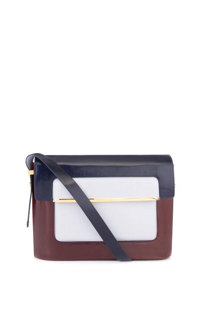Mary Katrantzou MVK leather bag