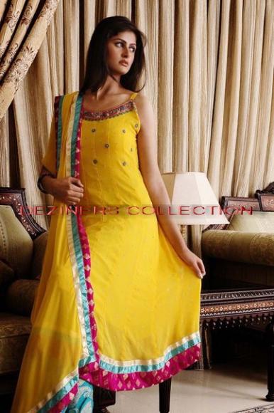 Mehndi Party Dresses : Fashion tips box mehndi mayon party dresses for girls