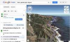 Vista de helicóptero en Google Maps, Google Earth vista de helicóptero