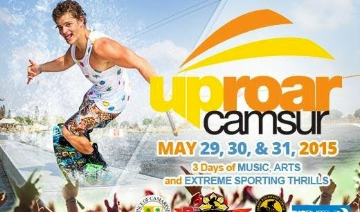 Extreme Music, Sports and Life in Camarines Sur with UpRoar CamSur 2015